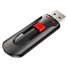 Флеш накопитель 16GB SanDisk CZ60 Cruzer Blade Glide, USB 2.0, Black (SDCZ60-016G-B35)