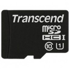 Флеш карта 16GB Transcend microSDHC Class 10 UHS-1 (TS16GUSDCU1)
