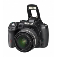 Зеркальный фотоаппарат Pentax K-50 KIT+DAL18-55mm F3.5-5.6AL WR Black