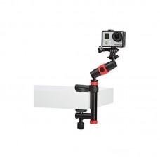 Держатель-струбцина Joby Action Clamp & Locking Arm (черный/красный)