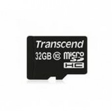 Флеш карта 32GB Transcend microSDHC Class 10 (TS32GUSDC10)