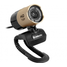 Веб-камера Defender G-lens 2577 HD720p /сенс 2МП/ черный
