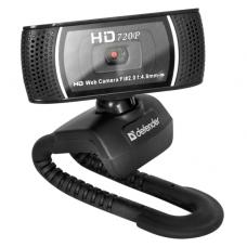 Веб-камера Defender G-lens 2597 HD720p / черный