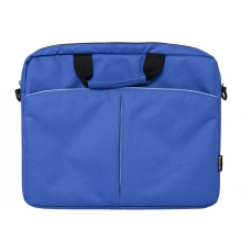 "Сумка для ноутбука Defender Iota 15""-16"" синий, органайзер, карман"