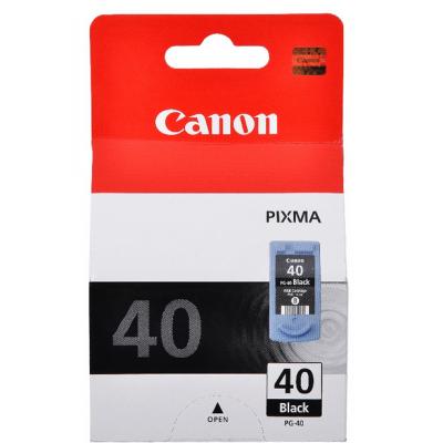 Картридж Canon PG-40 для PIXMA MP450/MP170/MP150/iP2200/iP1600. Чёрный. 330 страниц. 0615B025