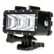 Водонепроницаемый LED свет для Gopro, Htc Xiaoyi, Sj5000