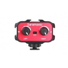 Saramonic SR-AX100 накамерный микшер (1 стерео, 2 моно-входа 3,5 мм)
