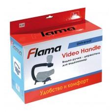 Видео ручка - держатель c горячим башмаком для видеокамер Flama FL-VH