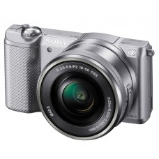 Цифровой фотоаппарат Sony ILCE-5000L 16-50 Kit Silver (A5000)