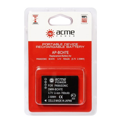 Аккумулятор AcmePower AP-DMW-BCH7E DMW-BCH7