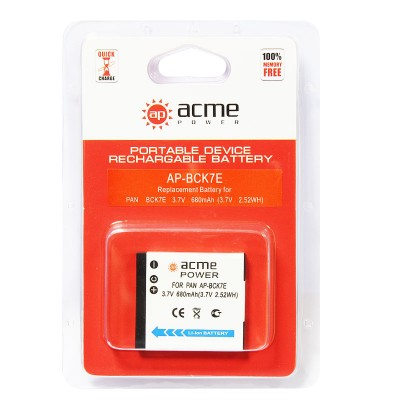 Аккумулятор AcmePower AP-DMW-BCK7E / DMW-BCK7 / NCA-YN101F