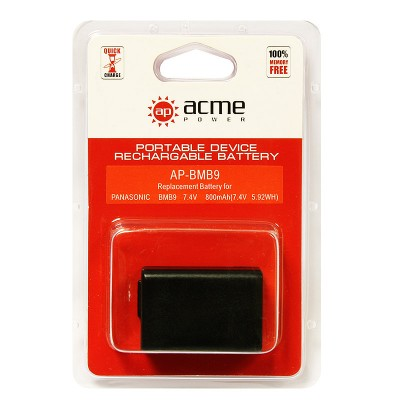 Аккумулятор AcmePower AP-DMW-BMB9E / DMW-BMB9