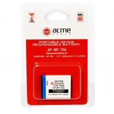 Аккумулятор AcmePower AP-BP70A / AP-BP-70A