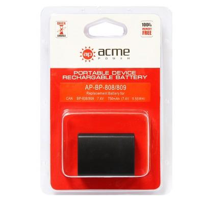 Аккумулятор AcmePower AP-BP-808/809