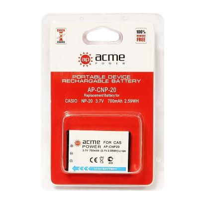 Аккумулятор AcmePower AP-Casio NP-20