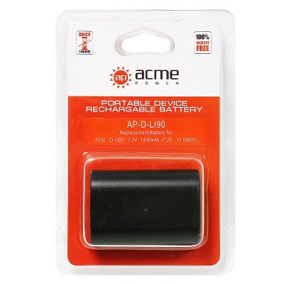Аккумулятор AcmePower AP-D-Li90 Pentax