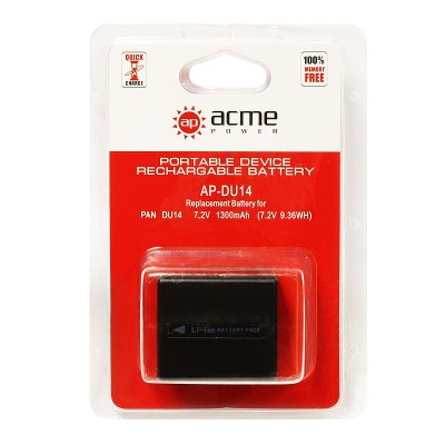 Аккумулятор AcmePower AP-CGR-DU14 / CGA-DU14