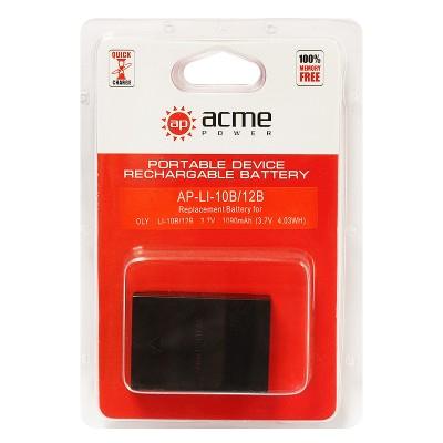 Аккумулятор AcmePower AP-Olympus Li-10B Li-12B Sanyo DB-L10