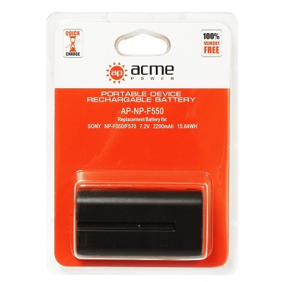 Аккумулятор AcmePower AP-NP-F570 NP-F530 NP-F550 NP-F330