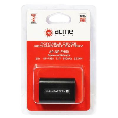 Аккумулятор AcmePower AP-NP-FH50 NP-FH40 NP-FH30
