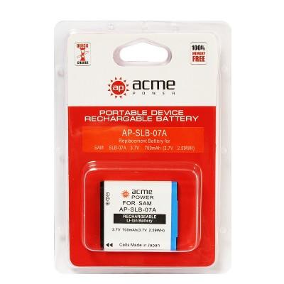 Аккумулятор AcmePower AP-SLB-07A