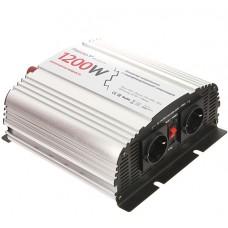 Автомобильный инвертор (преобразователь напряжения) 12В -> 220В, модифицированная синусоида Relato MS1200/12V