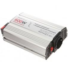 Автомобильный инвертор (преобразователь напряжения) 12В -> 220В, модифицированная синусоида Relato MS600