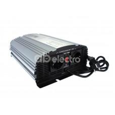 Автомобильный инвертор (преобразователь) напряжения 24В -> 220В) с зарядным устройством, чистая синусоида Relato CPS1000/24V