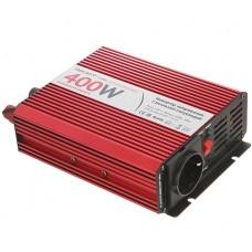 Автомобильный инвертор (преобразователь) напряжения 12В -> 220В, чистая синусоида Relato PS400