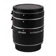 Комплект удлинительных макроколец Viltrox DG-C Macro Extension Tube Set for Canon