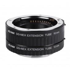 Комплект удлинительных макроколец Viltrox DG-NEX Macro Extension Tube Set для Sony
