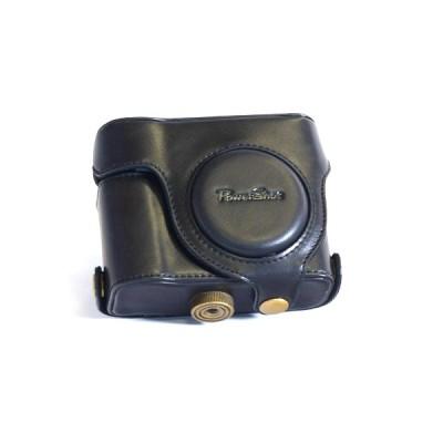 Кожаный чехол Canon SC-DC85 (кофр) для Canon Powershot G15 Черный