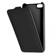Кожаный чехол для iPhone 5C Armor Case (Черный)