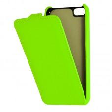 Кожаный чехол для iPhone 5C Armor Case (Зеленый)