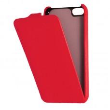 Кожаный чехол для iPhone 5C Armor Case (Красный)