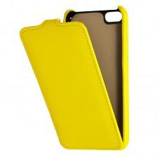 Кожаный чехол для iPhone 5C Armor Case (Желтый)