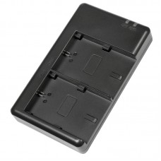 Двойное зарядное устройство Dual Digital для Sony NP-FV50 (Micro USB)