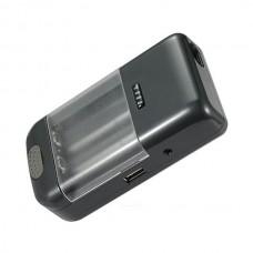 Универсальное зарядное устройство для всех аккумуляторов с индикатором + Автомобильный адаптер BM004C