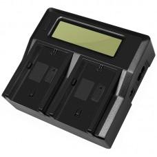 Двойное зарядное устройство Dual Digital BC-Q2 для Canon LP-E6