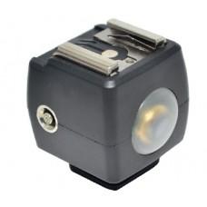 Адаптер переходник для горячего башмака фотоаппарата JJC JSYK-3B (Светосинхронизатор)