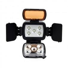 Накамерный свет LED-LBPS900 со шторками