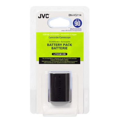 Аккумулятор JVC BN-VG114 / BN-VG114E для GZ-HD500, GZ-HD620, GZ-HM300, GZ-HM330, GZ-HM550, GZ-MG750, GZ-MS1, GZ-E15BE