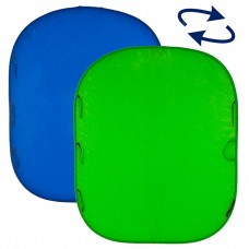 Складной фон Lastolite LC5687 Chromakey Blue/Green, 150х180 см