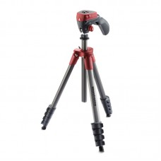 Штатив Manfrotto Compact Action (MKCOMPACTACN-RD) (Красный)