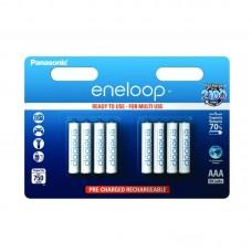 Аккумуляторы Panasonic Eneloop BK-4MCCE/8BE 750 mAh, 8 шт, AAA