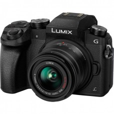 Цифровой фотоаппарат Panasonic Lumix DMC-G7 Kit Includes LUMIX G VARIO 14-42mm (Black)