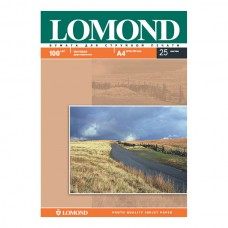 Фотобумага матовая двухсторонняя Lomond 100 г/м2, A4, 25 л (0102038)