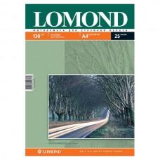 Фотобумага матовая двухсторонняя Lomond 130 г/м2, A4, 25 л (0102039)