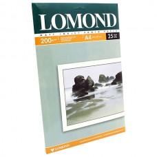 Фотобумага матовая двухсторонняя Lomond 200 г/м2, A4, 25 л (0102052)