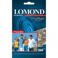 Фотобумага глянцевая Lomond Super Glossy 260г/м2, 10x15 cm, 20 л (1103131)